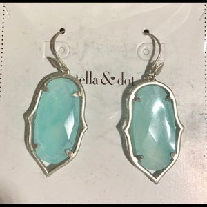 Stella & Dot Amala Aqua Chandelier's Retired